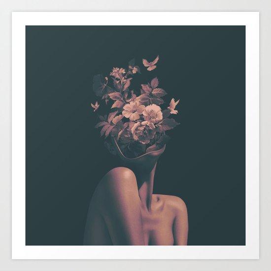 Dead Flowers Art Print