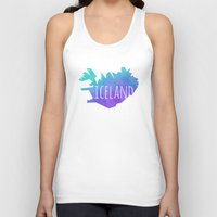 iceland Tank Tops featuring Iceland by Stephanie Wittenburg