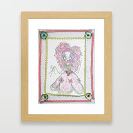 Velvetesque Dolls • Victorian Collection #3B Framed Art Print