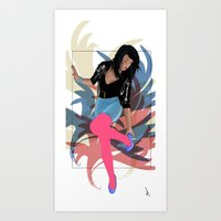 80s Art Prints featuring 80s by Allen Holt