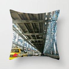 Washington Bridge, NYC Throw Pillow
