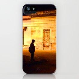 Man in Black iPhone Case
