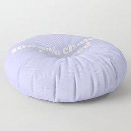 1000% chance i'm tired Floor Pillow