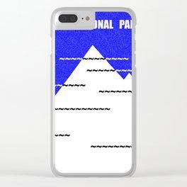 Denali National Park Clear iPhone Case
