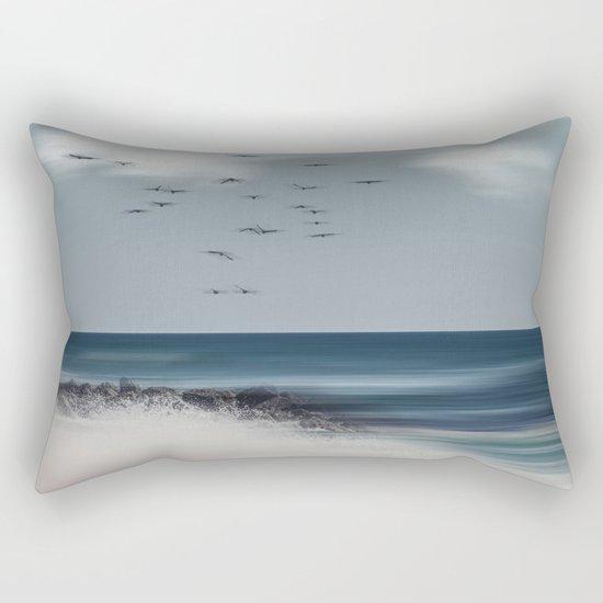 Atlantic Water Rectangular Pillow