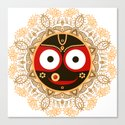 Jagannath. Indian God of the Universe. Lord Jagannatha. by olgaberlet