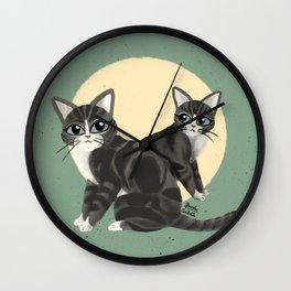 Lovely kitties Wall Clock
