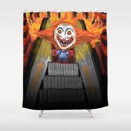 Sick Again - Scary Clown Shower Curtain