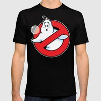Bubblebusters MEDIUM Mens Fitted Tee Black