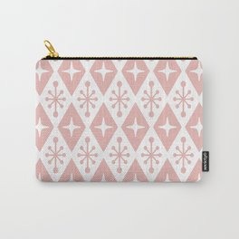 Mid Century Modern Atomic Triangle Pattern 130 Carry-All Pouch
