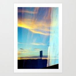 Triple Sunset Art Print