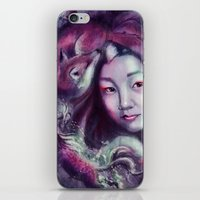 korea iPhone & iPod Skins featuring South Korea by Holly Carton