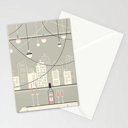 Drinks by City Light Stationery Cards