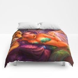 Sleepless Nights-Princess Jasmine Comforters