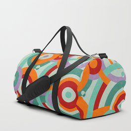 Colorful circles Duffle Bag