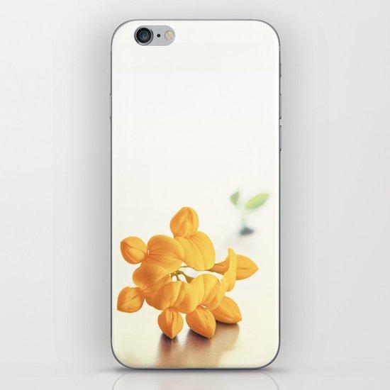 Yellow Clover iPhone Skin