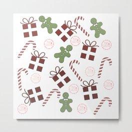 Regalos, dulces y galletas Metal Print