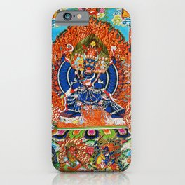Tantric Buddhist Vajrabhairava Deity 3 iPhone Case