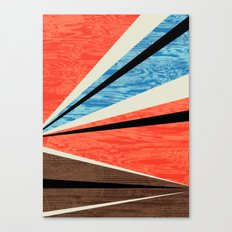 Graphic Woodgrain Canvas Print