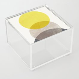 SUN MOON EARTH Acrylic Box
