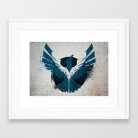 infamous Framed Art Prints featuring inFamous Second Son Good Karma 1 by Kyrsten Carlson