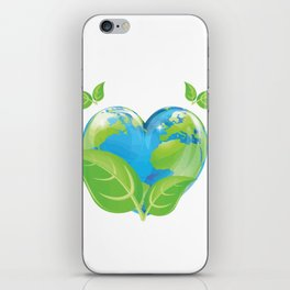Earth day 2018 Shirt - support science save world iPhone Skin