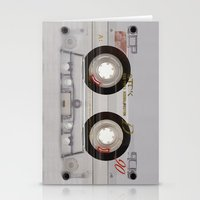 transparent Stationery Cards featuring Cassette Transparent by Diego Tirigall