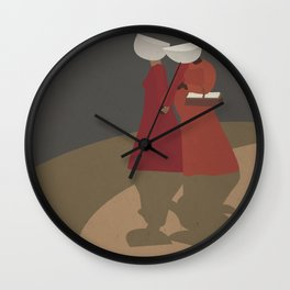 The Handmaid's Tale Poster 1 Wall Clock