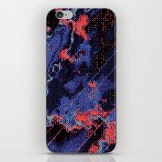 Glitch Cartography #1 iPhone & iPod Skin