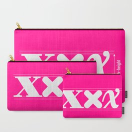 XXX-height. Carry-All Pouch