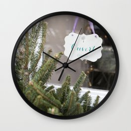 Ouvert, Open Wall Clock