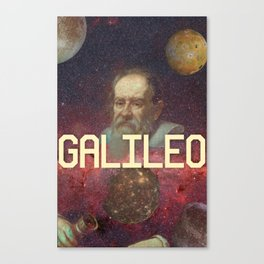 Visions of Galileo Canvas Print