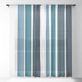 Stripes Pattern No.9 Sheer Curtain