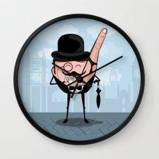 Sir Pinky Wall Clock