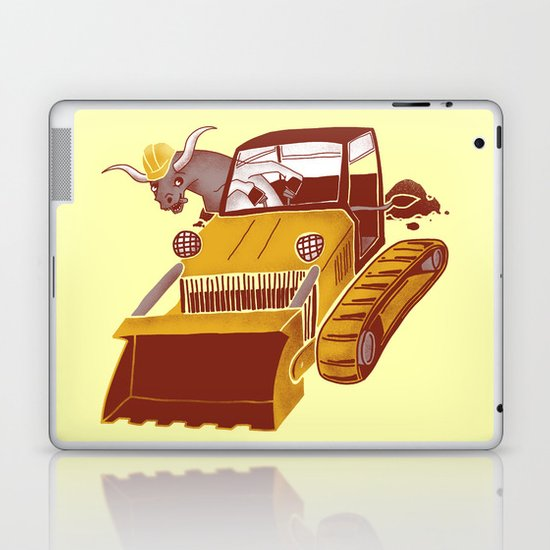 Bulldozin'  Laptop & iPad Skin