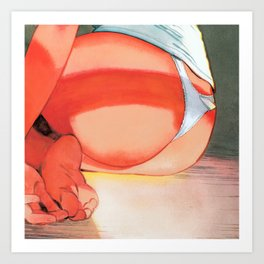 PEEK014 Art Print