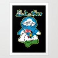 ponyo Art Prints featuring Ponyo by CarloJ1956