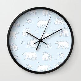 Just Chillin' Wall Clock