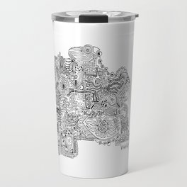 Doodles Travel Mug