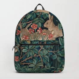 "John Henry Dearle ""Greenery"" 4. Backpack"