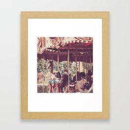 carrusel 1 Framed Art Print