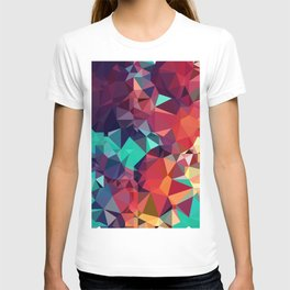 Abstract Rainbow Gem T-shirt