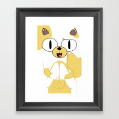 CAKE THE CAT Framed Art Print