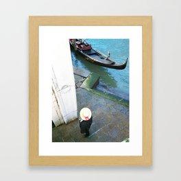 Gondolier Framed Art Print