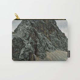 Dark rocky mountain Carry-All Pouch