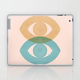 Abstraction_EYES_Minimalism_POP_ART Laptop & iPad Skin