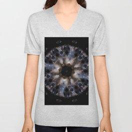 Galaxy mandala #4 Unisex V-Neck