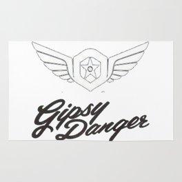 Gipsy Dangers Logo Rug