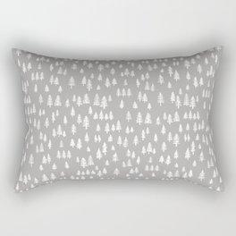 evergreen forest Rectangular Pillow