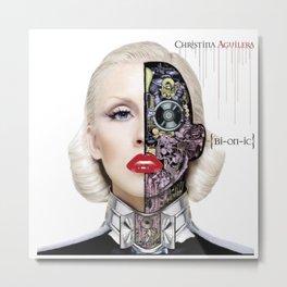 christina aguilera bionic Metal Print